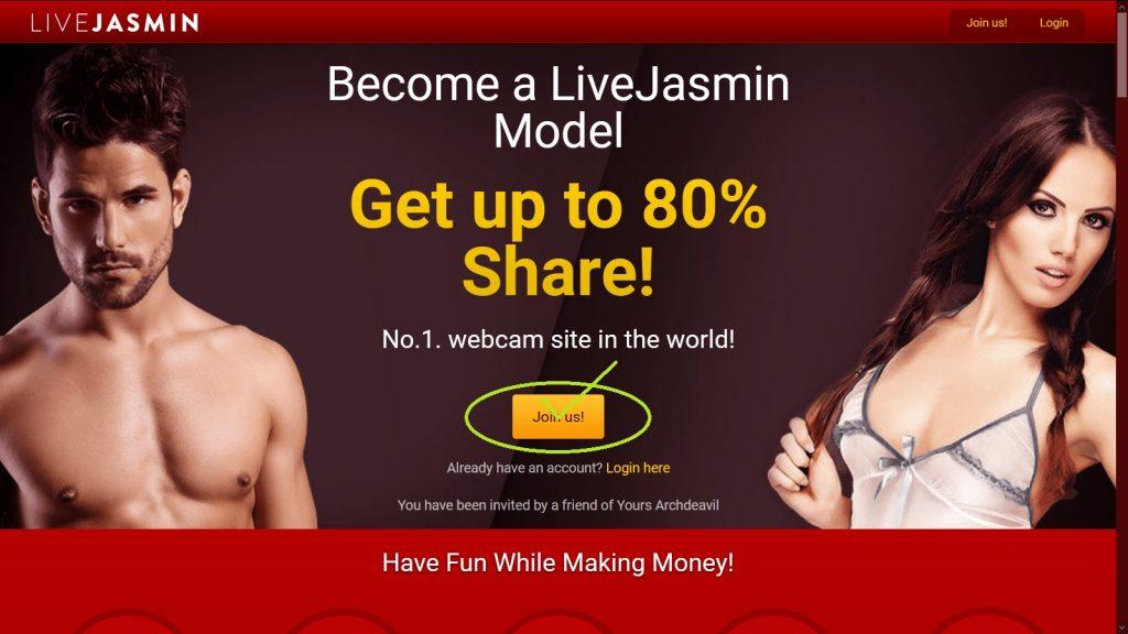Work for Livejasmin